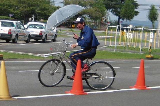 自転車安全運転教室